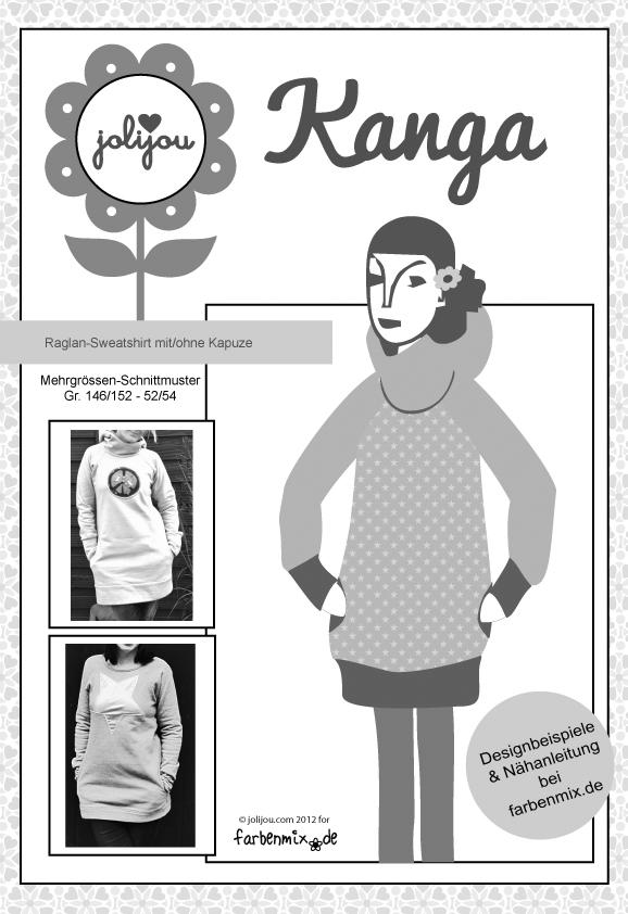 Papierschnittmuster Damen-Sweatshirt \