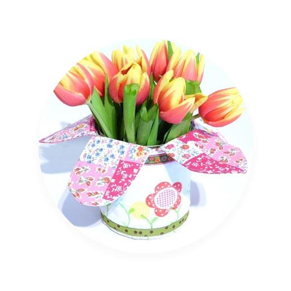 Blumentopf Überzug