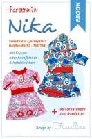 NIKA, Sweatkleid, Ebook-Schnittmuster