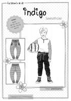 INDIGO, Kinder-Sweathose, Schnittmuster