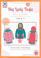 Big Lady Tasja, Hoodie und Kleid, Schnittmuster