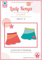 Lady Kenya, Damen-Jerseyrock, Schnittmuster