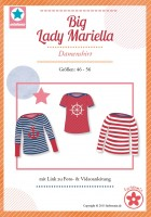 Big Lady Mariella, Basic-Shirt, Papierschnittmuster