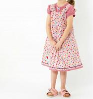 ODA, Kinderkleid in 2 Weiten, Schnittmuster