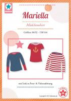 Mariella, Kindershirt, Schnittmuster