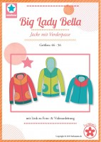 Big Lady Bella, Sweatjacke, Papierschnittmuster