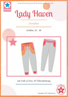Lady Haven, Damen-Sweathose, Schnittmuster
