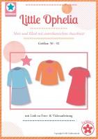 Little Ophelia, Shirt und Kleid, Papierschnittmuster