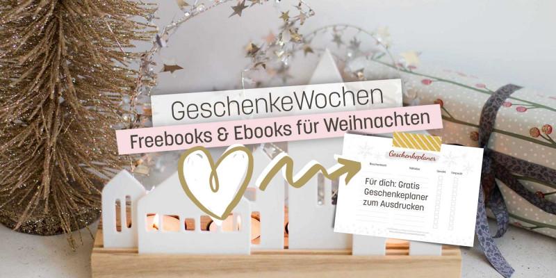 Geschenkefinder Ebooks und Freebooks für Weihnachten