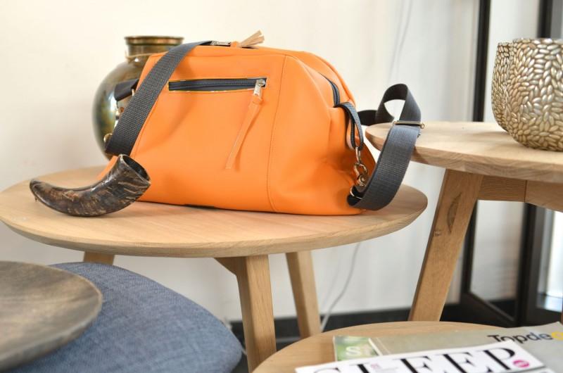 Herzmuschel Orange von Kreative Adern