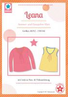 Leana, Sommershirt, miaLuna Papierschnittmuster