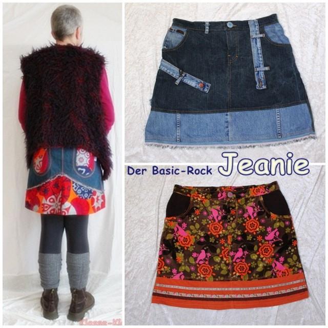 Basic Jeansrock Fur Anfanger Farbenmix