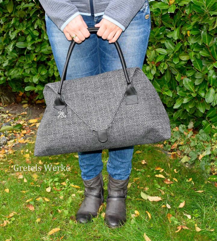 """Designbeispiel """"SeaShell"""" Handtasche vom Taschenspieler 5"""