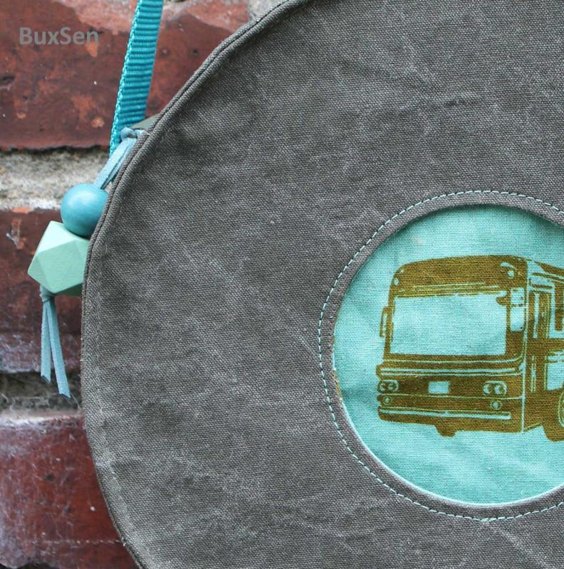 RundeTasche vom Taschenspieler 5 aus Canvas