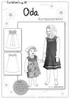 ODA, Kinderkleid, Papierschnittmuster