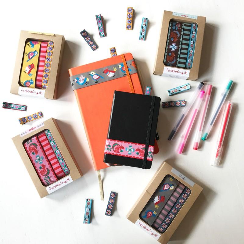 Borten Designer Kollektion Notizbücher von Mädchenkram