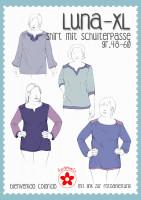 Luna XL, Damen-Passenshirt, Schnittmuster