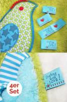 Crafting with Love Etikett zum Einnähen