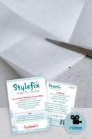 Stylefix-Vlies für Taschen, weich und stabil, knickfrei Verarbeitung ohne Dampf