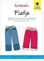 FIETJE, Boyfriend-Hose, Schnittmuster