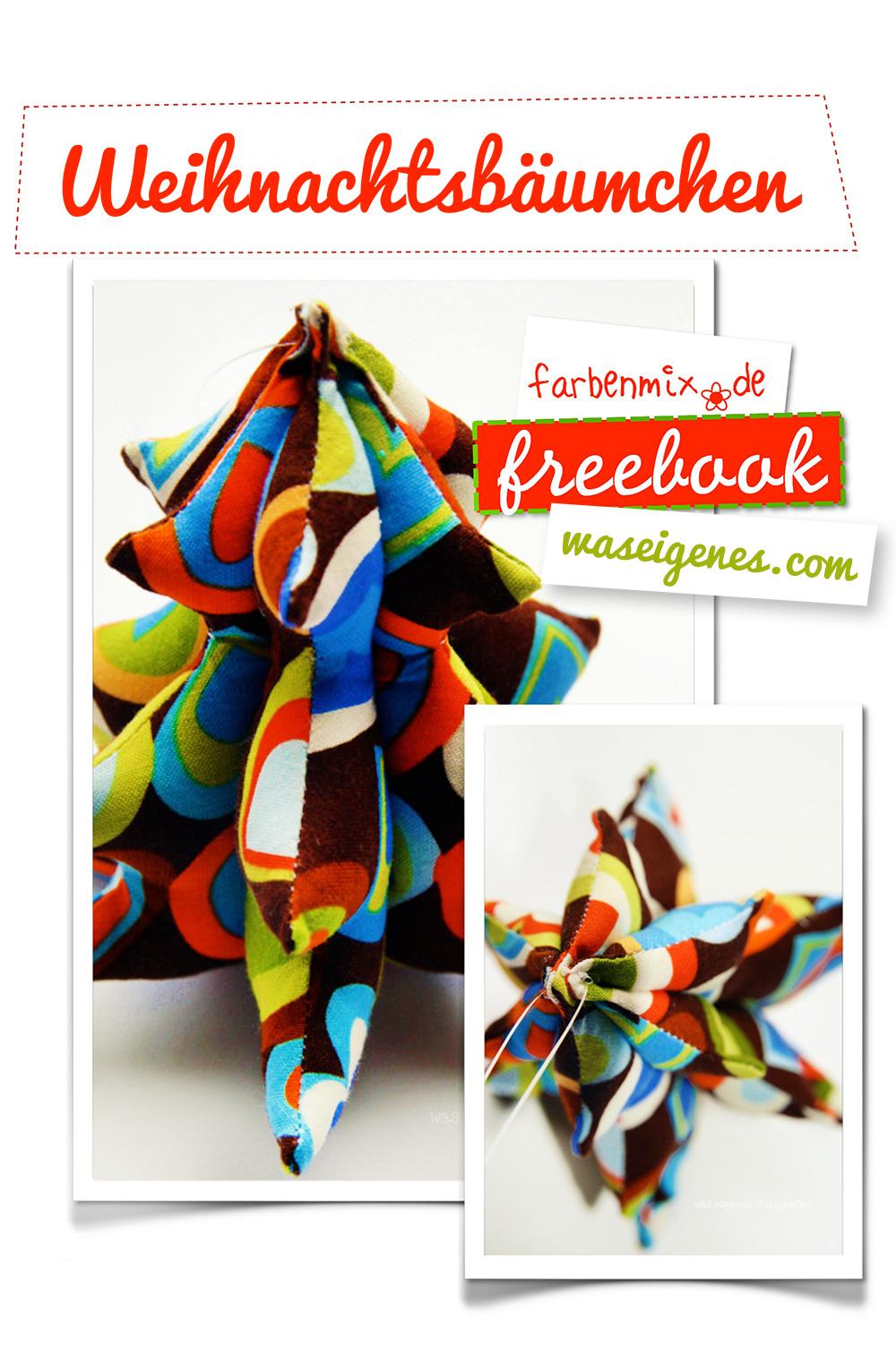 Was Eigenes Weihnachtsbäumchen Nähanleitung | farbenmix