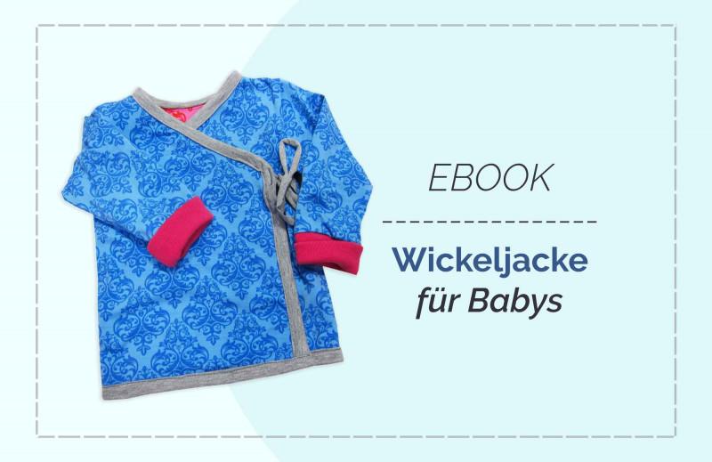 """Schnittmuster Jüppchen Wickelshirt """"Mimi"""" für Babys und Neugeborene"""