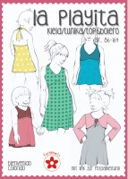 La Playita, Sommerkleid, Papierschnittmuster