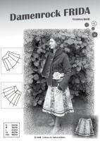 FRIDA, Damenrock, Papierschnittmuster