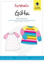 GITTA, Blusenshirt, Schnittmuster