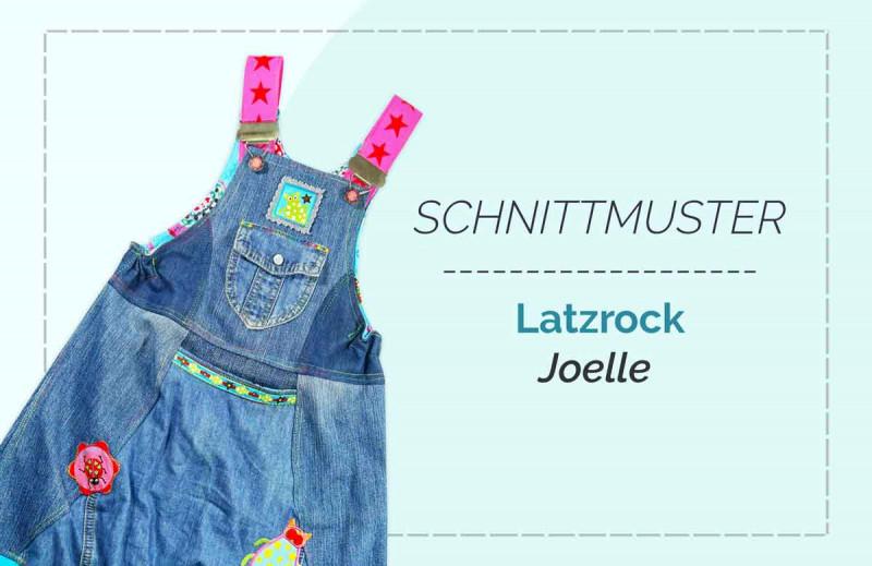 Schnittmuster Kinder-Latzkleid Joelle von Jolijou