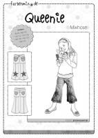 QUEENIE, 7/8-Hose für Kinder, Schnittmuster