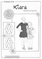 KIARA, Kleid und Longshirt, Papierschnittmuster