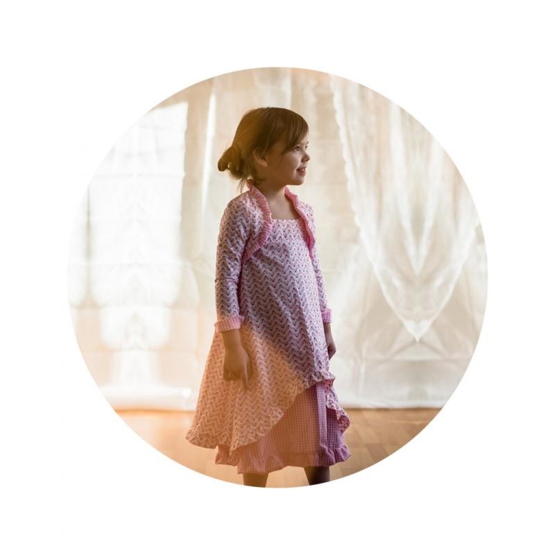 Schnittmuster für Einschulung, Kommunion und Hochzeit | farbenmix