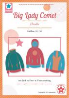 Big Lady Comet, Plus-Size-Hoodie, Schnittmuster
