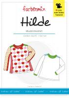HILDE, Kindershirt, Papierschnittmuster