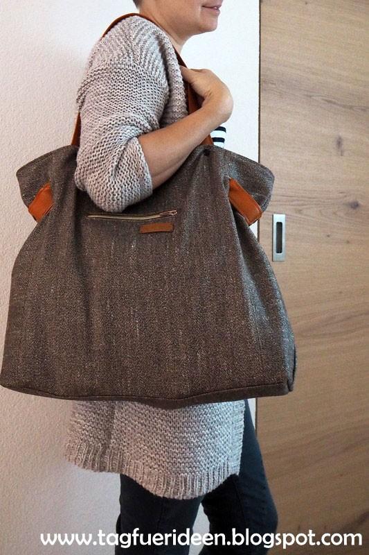 Carrybag genäht von Tag für Ideen