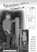 KATI, Slim-Fit-Jeans, Schnittmuster