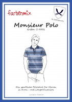 Poloshirt Monsieur Polo, Schnittmuster