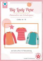 Big Lady Pepe, Plus-Size-Shirt, Papierschnittmuster