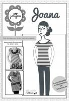 Joana, Damenshirt und Kleid, Papierschnittmuster
