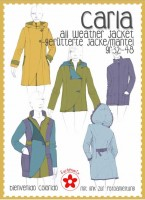 Carla, Allwetter-Jacke für Damen, Schnittmuster