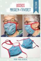 Kostenloses Schnittmuster Behelfsmaske Mund-Nasen-Maske zum selber nähen