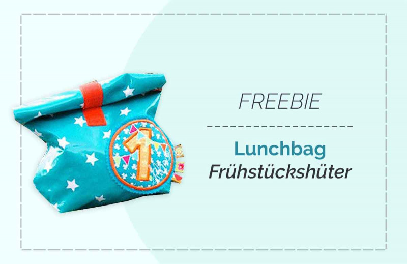 """Freebook Anleitung Lunchbag Schnittmuster """"Frühstückshüter"""""""