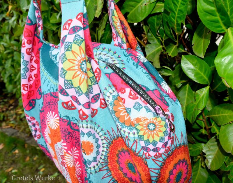 CityHopper Taschen Designbeispiel von Gretels Werke für Farbenmix