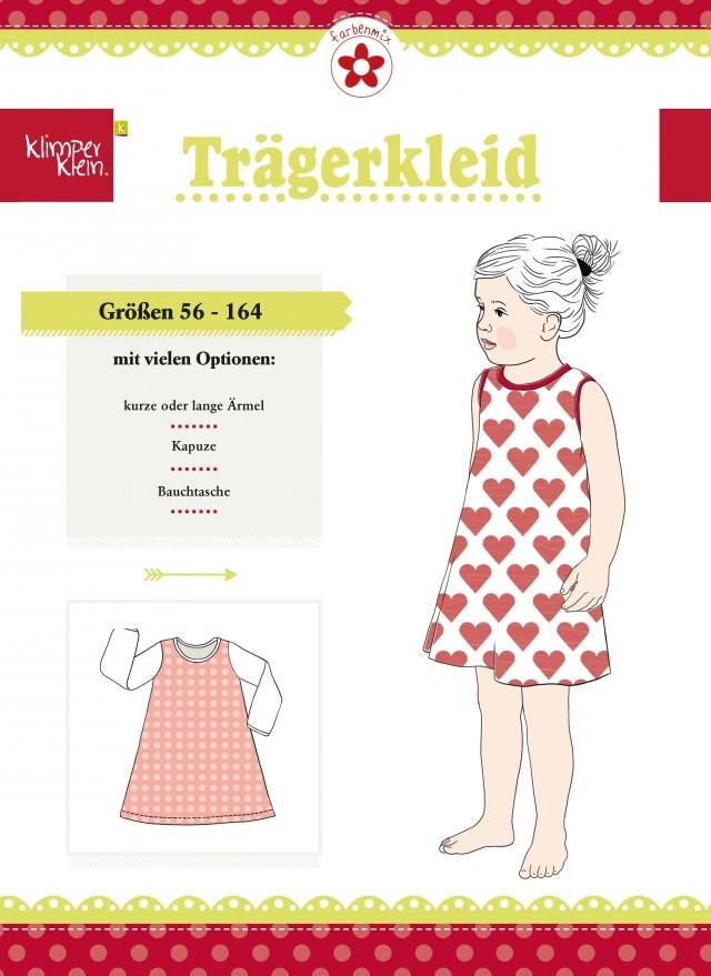 Klimperklein Trägerkleid Schnittmuster | farbenmix