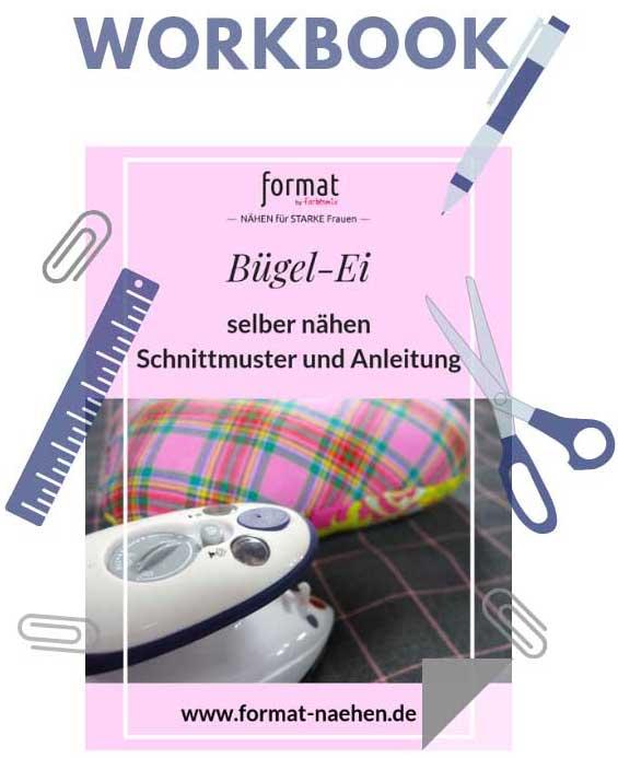 Bügel-Ei selber nähen - Gratis Schnittmuster und Fotoanleitung ...