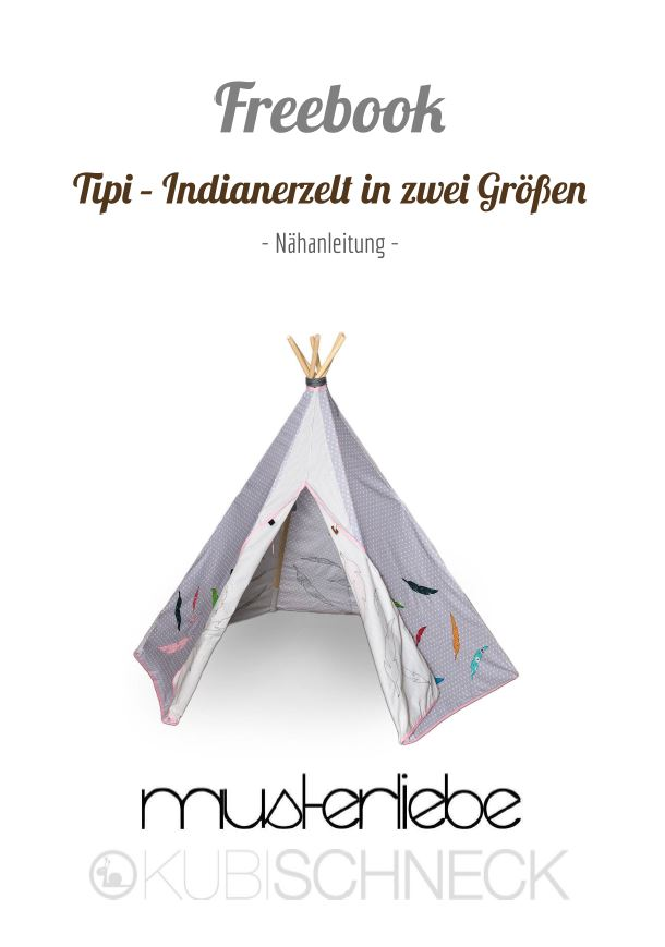 freebook tipi spielzelt zum spielen und tr umen farbenmix. Black Bedroom Furniture Sets. Home Design Ideas