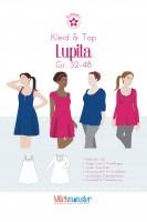 Lupita, Kleid & Top, Milchmonster Papierschnittmuster