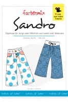 SANDRO, Tobehose, Papierschnittmuster
