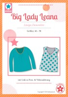 Big Lady Leana, Plus-Size-Damenshirt, Schnittmuster